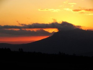 sunset hogsback